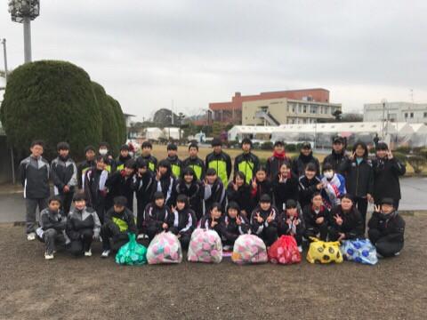 生徒会 ボランティア清掃活動